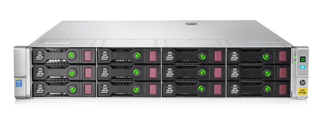 HPE Storeeasy 1650 16TB SAS Storage
